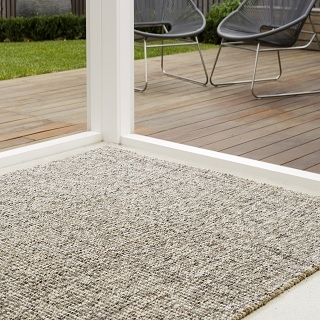 Greystone Wool and Jute Rugs:- 3 Sizes Available