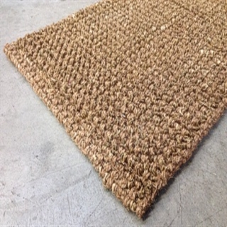 Coir and Seagrass door mat:- Size .75 x .45 $57.00