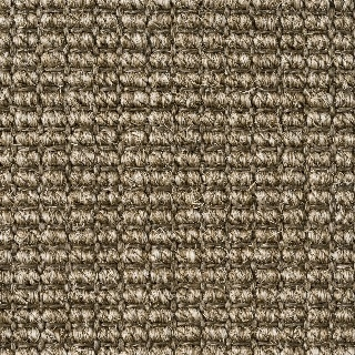 Heavy Ribbed Mocha Sisal
