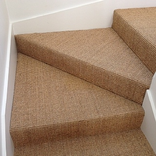 Heavy Castlemaine Sisal On Stairs