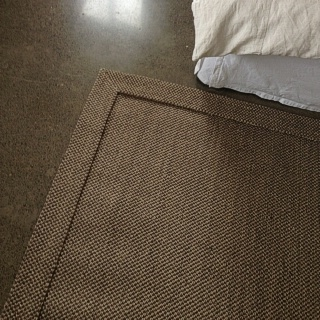 Granite Rustic Sisal Self Edge Rug
