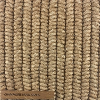 Champagne Braid Abaca