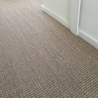 Autumn Slate Sisal Installation