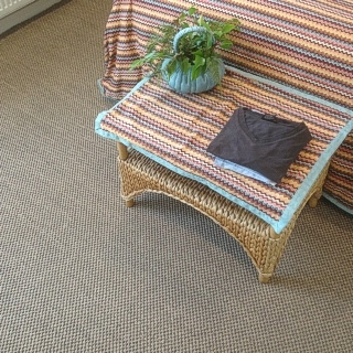 Granite Rustic Sisal In Bedroom