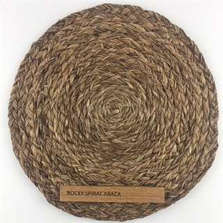 Spiral Weave Rocky Abaca