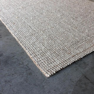 Snowgum Wool and Jute Rug:- Size 1.70 x 2.30 $1045