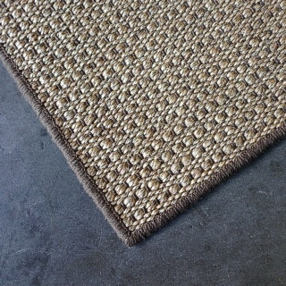 Autumn Slate Sisal Pebble Overlocked Rug 1.70 x 2.40 $540.00